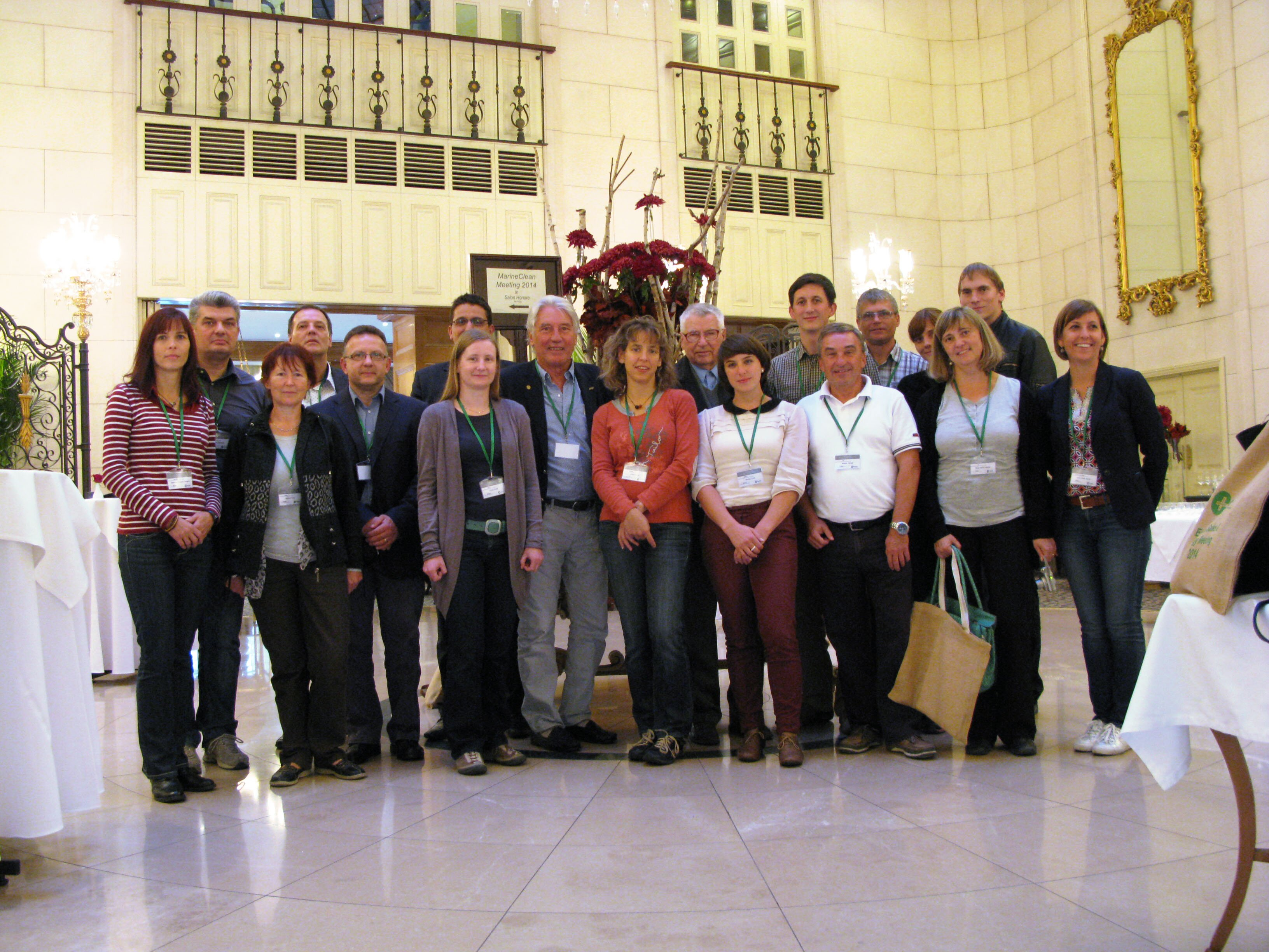 The MarineClean consortium met on the final project meeting in Budapest.