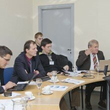 MarineClean project meeting in Lithuania at Klaipeda, October 2013